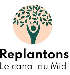 Logo Replantons le canal-centré noir pet