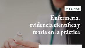 Webinar: Enfermería, evidencia científica y teoría en la práctica - UDP