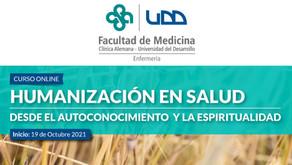 Curso: Humanización en Salud desde el Autoconocimiento y la Espiritualidad
