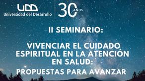 Seminario: Vivenciar el cuidado espiritual en la atención de salud