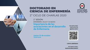 """Sesión 2 """"Importancia de las Asociaciones en Enfermería""""/ Ciclo de Charlas. Doctorado en Enfermería"""