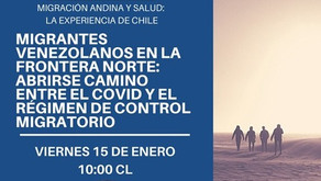 Migración Andina y Salud: la experiencia de Chile