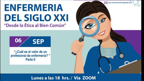 ¿Cuál es el valor de un profesional de Enfermería? / Ciclo Conversatorios 2021