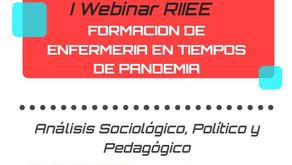 Webinar RIIEE: Formación de Enfermería en Tiempos de Pandemia