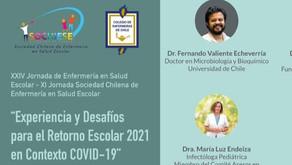 XXIV Jornada de Enfermería  en Salud Escolar - SOCHIESE