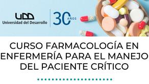 Curso: Farmacología en Enfermería para el manejo del paciente crítico-UDD