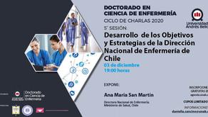 Sesión 5: Desarrollo de los objetivos y estrategias de la Dirección Nacional de Enfermería de Chile