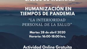Webinar: Humanización en tiempos de pandemia