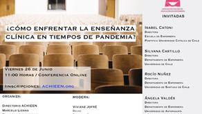 Video: ¿Cómo enfrentar la enseñanza clínica en tiempos de pandemia?