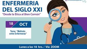 Maltrato entre Enfermeras / Ciclo Conversatorios Enfermería del Siglo XXI