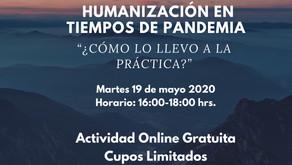 Humanización en tiempos de pandemia: ¿cómo lo llevo a la práctica?