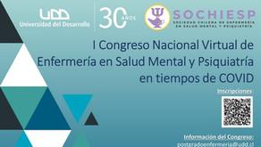 I Congreso Nacional Enfermería en Salud Mental y Psiquiatría en tiempos de COVID / SOCHIESP-UDD