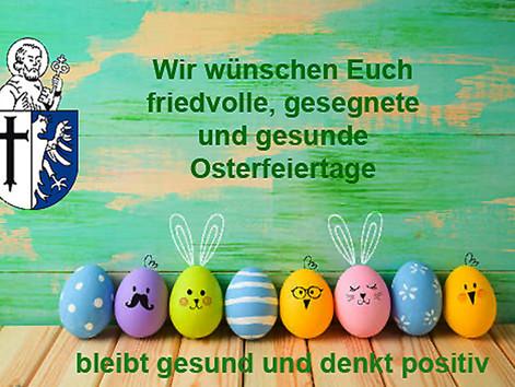Frohes und gesegnetes Osterfest