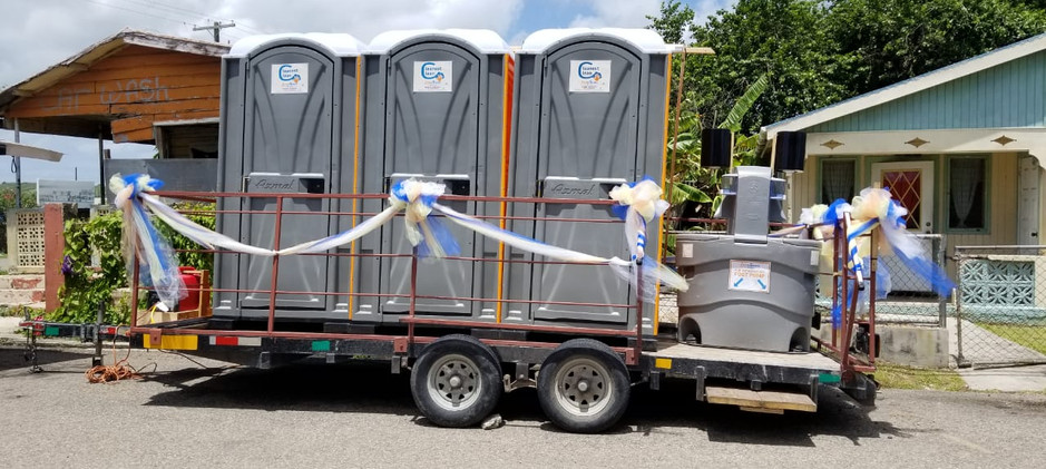 Mobile Bathroom for a Carnival band