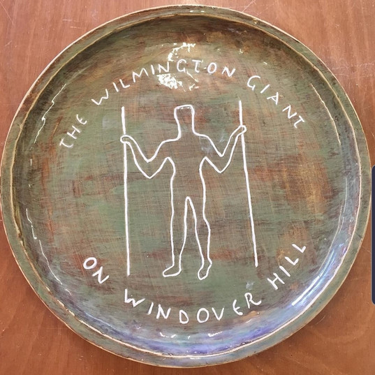 Long Man Platter