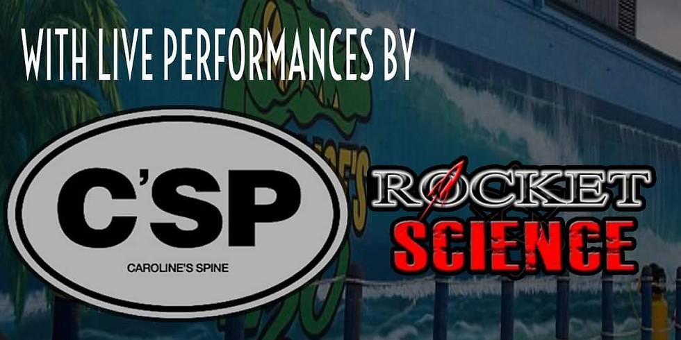 Rocket Science with Caroline's Spine at Safari Joe's