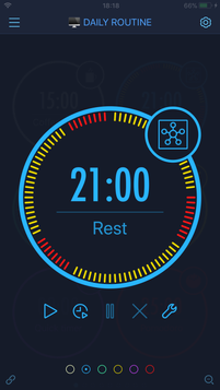 Timer view mode