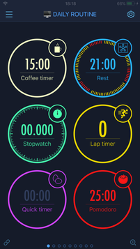 Timerboard with hosted timers