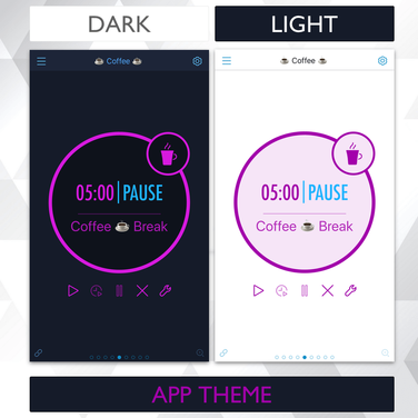 Dark and Light App Theme