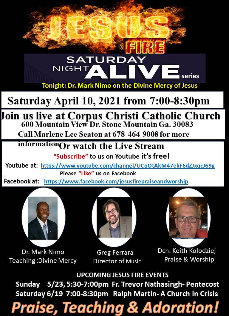 Final Jesus FIre Saturday Night Alive 4-