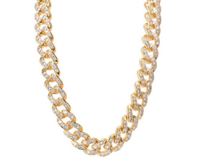 "18"" Link Diamond Necklace"