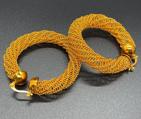 Ngalam Round Earrings