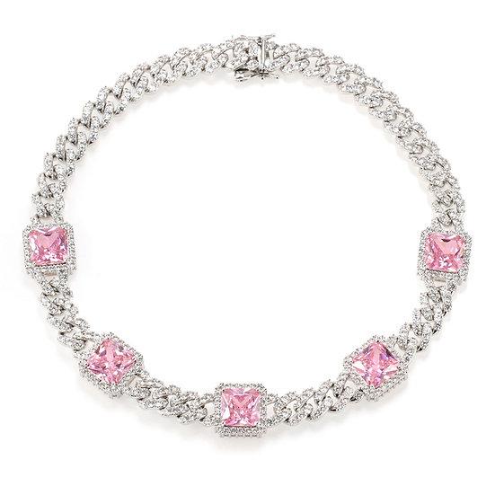 """18"""" Cuban diamond necklace"""