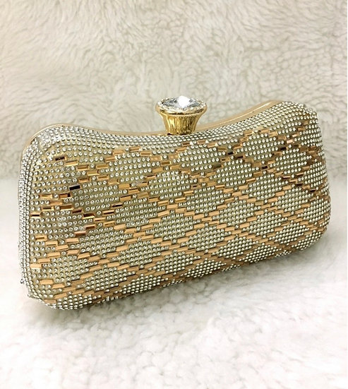 Diamond-Gold Purse