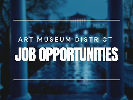 Art Museum District Job Opportunities