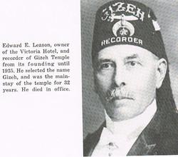 Gizeh Ed Leason 1902