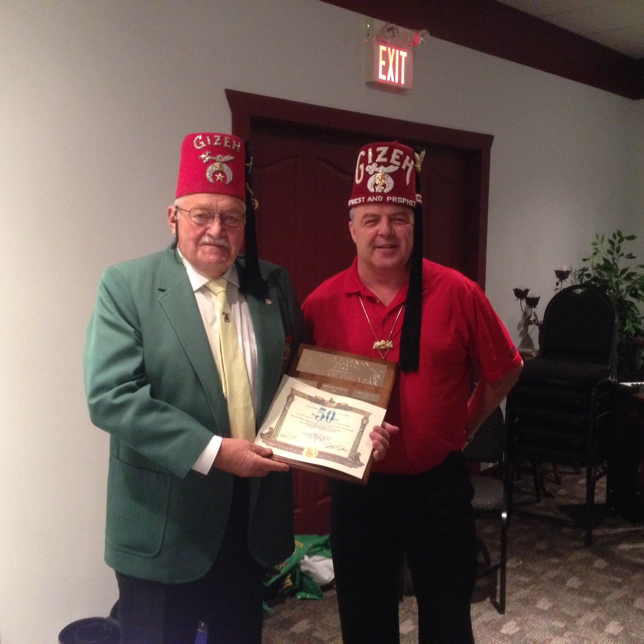 2015 Noble of the Year Arnie Krenz
