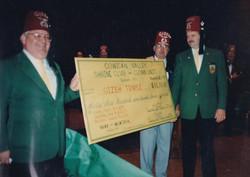 Gizeh Check presentation 1987