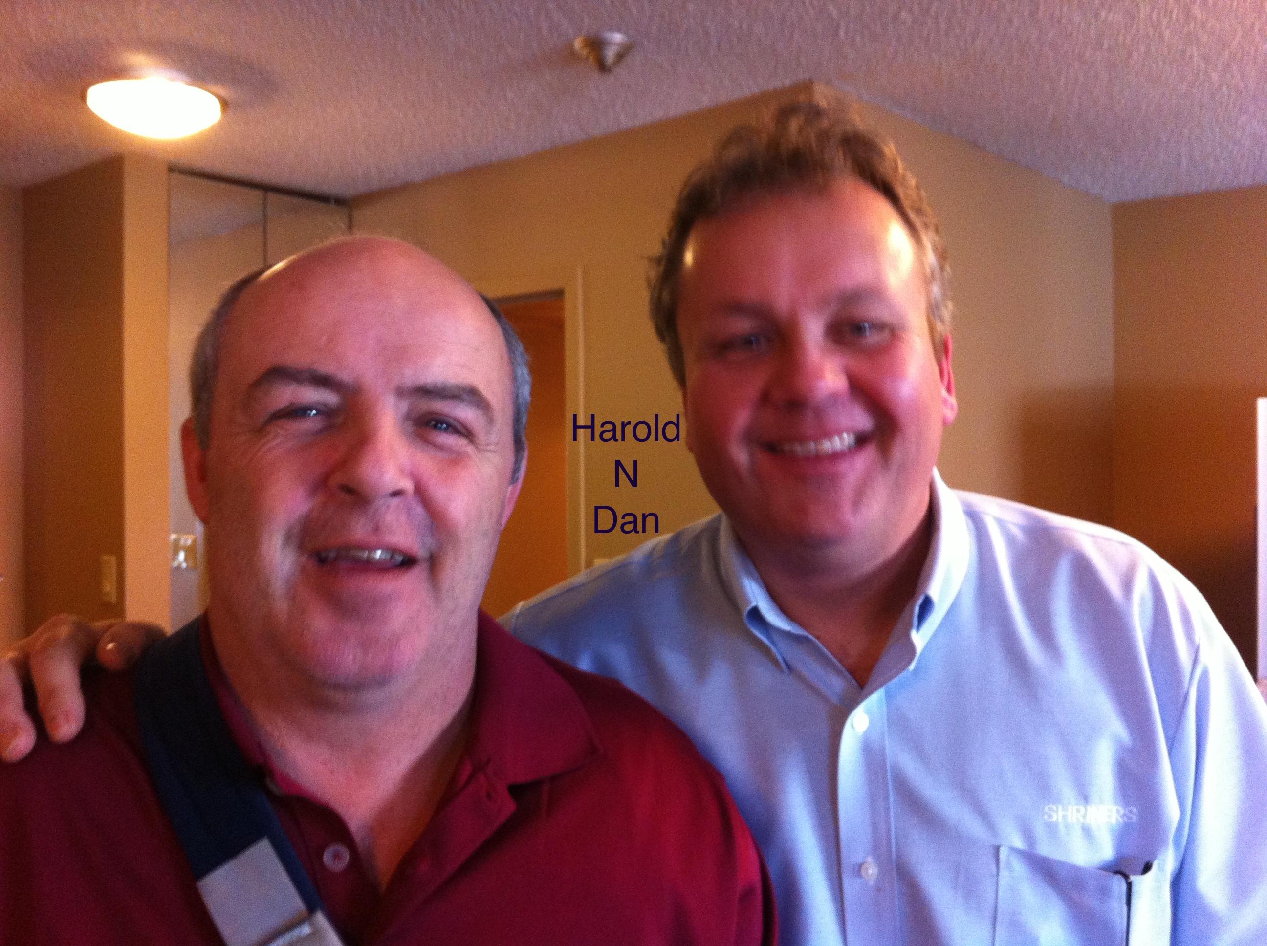 Harold Wallace and Dan Mellor 2014