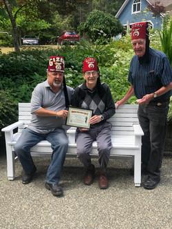 2019 Tom Clark CVSC Life Membership