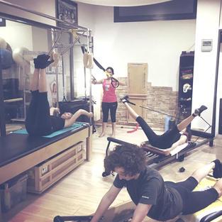 Pilates Studio circuito in small group