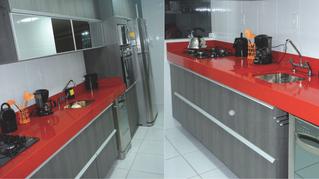 Cozinha vermelha: como incorporar cor ao seu espaço