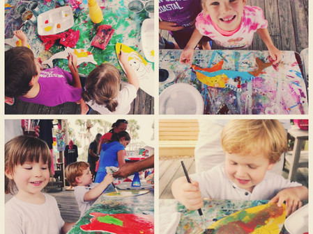 Kids Art Classes Coming Soon to 30A Artists at Gulf Place!