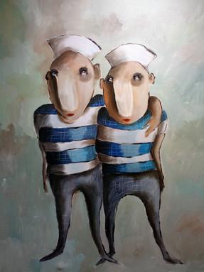 """Les Deux Marins"""