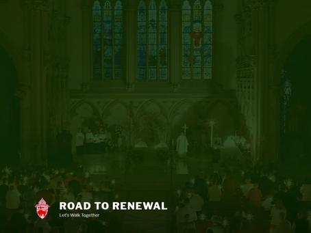 """Road to Renewal"" Diocesan Initiative"