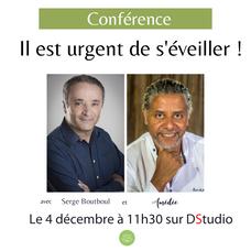 Conférence exceptionnelle avec Serge Boutboul et Amédée