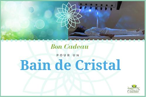 Bain de Cristal • Bon cadeau offre spéciale