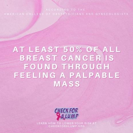 Friday fact - palpable mass