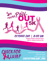 5th Annual Pink Out 5K