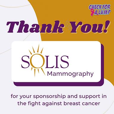 Solis Mammography Appreciation
