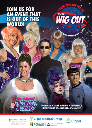 Wig Out! Gala - Flying to the Future!