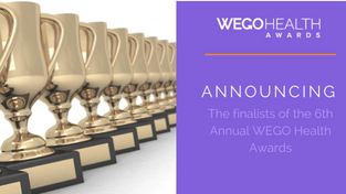 Our founder, Holly Rose, is a finalist for the 2017 Wego Health Awards!