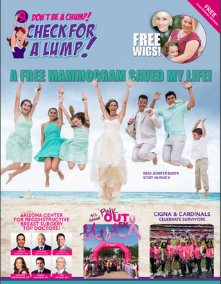Free mammogram saved Jennifer's life!
