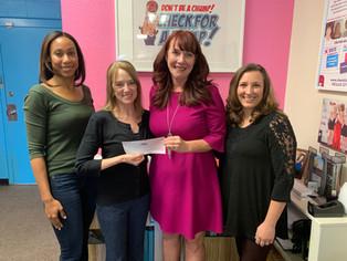 Kemper and Ethel Marley Foundation donates $179,200!!!!