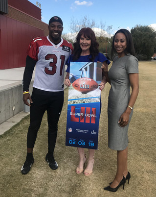 Cardinals Present Us With Superbowl Tickets!!!