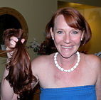 Holly Rose, breast cancer, hair, dont be a chump check for a lump